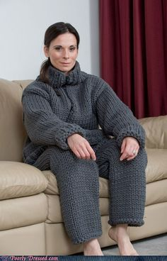 Because snuggies are too dignified...