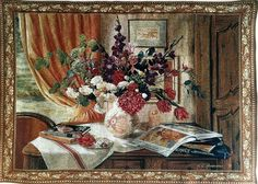 Anderson Floral Tapestry 40H x52W