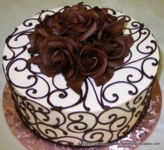 Super Ideas For Cupcakes Recipes White Buttercream Frosting Cake Decorating Designs, Cake Decorating Techniques, Cake Designs, Cookie Decorating, Amazing Cakes, Beautiful Cakes, Cake Cookies, Cupcake Cakes, Mini Cakes
