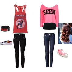 """""""geek power"""" by thecourtneymonster on Polyvore"""