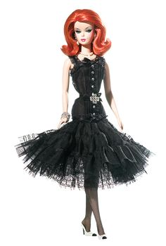 Dressed to impress, this gorgeous doll from the Barbie Fashion Model Collection is ready to make a dramatic entrance in her LBD. Haut Monde™ Barbie® Doll.