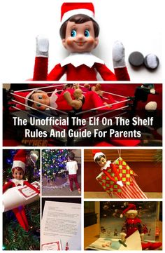The Unofficial Elf On The Shelf Rules For Parents #elfontheshelf #christmas #elfshelf