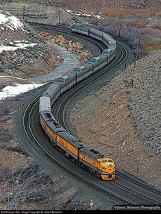 By Train, Train Tracks, Rio Grande, Old Steam Train, Railroad Pictures, Railroad History, Bonde, Railroad Photography, Old Trains