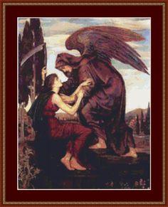 The Angel Of Death Cross Stitch Pattern