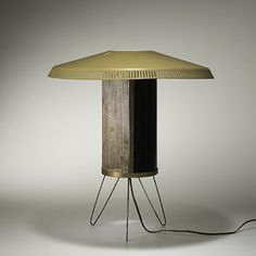 Mathieu Matégot, Table Lamp for Atelier Matégot, 1950s.