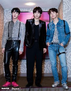 Bts Jin, Taehyung and Jhope