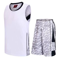 1483be93b9a7 2017 new college basketball jersey   shorts breathable sleeveless training  suit cheap basketball jerseys basketball shorts-in Basketball Jerseys from  Sports ...