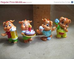 SALE Pinky Piggies Piglets Pigs KINDER Surprise by ValueARTifacts