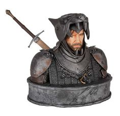 Buy Game of Thrones The Hound Bust at Mighty Ape NZ. Dark Horse reveals the next piece in the ongoing series of limited-edition collectibles based on HBO's hit television series, Game of Thrones. Game Of Thrones Series, Game Of Thrones Tv, Toy Art, Hades, Comic Book Heroes, Comic Books, Game Of Thrones Collectibles, Game Of Thrones Merchandise, Game Of Thrones Gifts