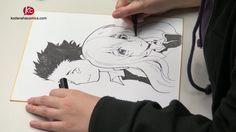 Vidéo de Yoshitoki Oima dessinant les héros du manga A Silent Voice