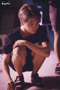 Little Jimin, even smaller when kneeling - BTS ~ DarksideAnime