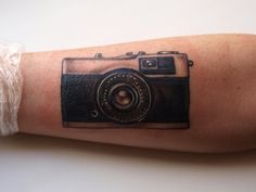 Image result for old camera silhouette for tattoo