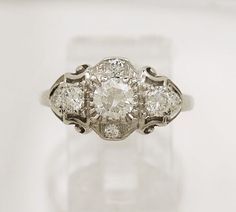 Platinum Antique ring