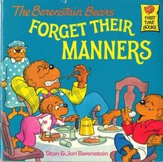 The Berenstain Bears - I still have my whole collection of the berenstain bears books :)