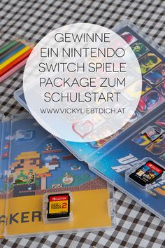 Nintendo Switch Gewinnspiel zum Schulstart - Vickyliebtdich Super Mario World, Super Mario Bros, Marvel Ultimate Alliance 3, Guardians Of The Galaxy, X Men, Iron Man, Avengers, Maker, Monopoly