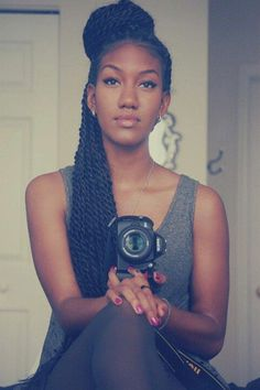 How to style box braids: 50 Stunning Ideas From Pinterest