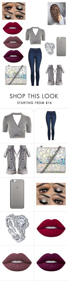 """""""Untitled #209"""" by alexponson ❤ liked on Polyvore featuring Topshop, Zimmermann, Native Union, BERRICLE and Lime Crime"""