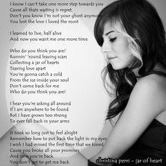 christina perri - jar of heart