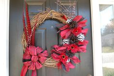 Gamecock Wreath