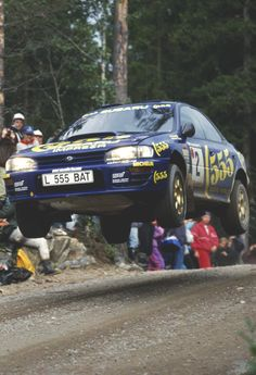 Subaru Impreza rally car - Group A