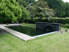 Natuurlijk zwembad Tilburg gepind door Gilbert de Jong