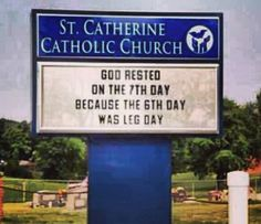 God rested on the 7th day because....