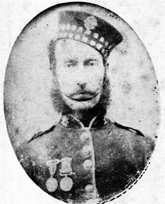 Photograph of James McDonald, circa late 1860's, Scots Fusilier Guards with Crimea and Turkish War Medals Photograph of James McDonald, circa late 1860's, Scots Fusilier Guards with Crimea and Turkish War Medals James McDonald born 20th December 1835 Old Machar, Aberdeen, Scotland the son of Donald McDonald and Janet Knox who had married 6th October 1825 at Old Machar, Aberdeen, Scotland. He married Margaret Eliza Stokes born 1840 Stepney, London on the 30th July 1861 at St John Evangel
