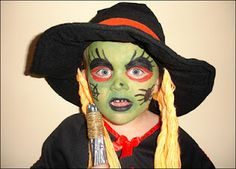Halloween Makeup For Child