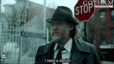 Harvey Bullock, Gotham on Fox Bullock Gotham, Harvey Bullock, Gotham Season 4, Jim Gordon, Jerome Valeska, Fox, Joker, Routine