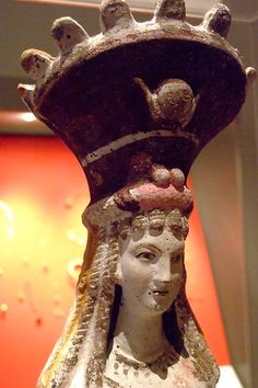 Isis-Aphrodite 2nd century CE Terracotta white engobe Egypt (1) Metropolitan Museum
