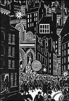 "Frans Masereel, from ""The City"""
