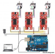 electronics-wiring-connection-build-diy-cnc-machine-rc-multirotor-quadcopter-carbon-fiber-frame