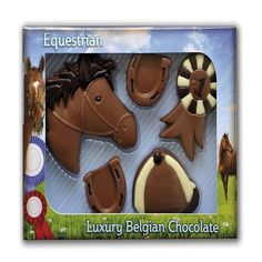 Milk Chocolate Horse Riding Kit £7.99 FREE UK Delivery.  http://www.ragstorichesuk.com/gifts/confectionery/milk-chocolate-horse-riding-kit-detail