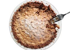 Original Crack pie.  Once you start eating this rich, salty-sweet pie with its oat cookie crust, you won't be able to stop.