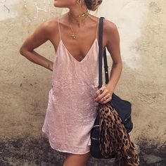 Ukraine Summer Women Sexy pink orange velvet Dress Glitter dress Gothic backless off shoulder spaghetti strap Vestido Party XL