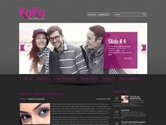 KoKo is excellent solution for your personal blog. This WordPress theme supports and comes with custom widgets, drop-down menus, javascript slideshow and lots of other useful features