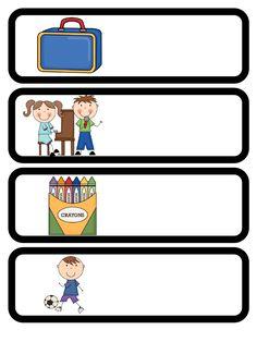 Picture Schedule Editable  PreK Preschool  Schedule Cards