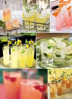 hip lemonade coolers • a summer wedding must