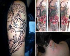 Boba Fett tattoo's