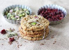 Oatmeal Pistachio Cranberry Cookies