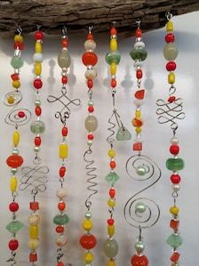 Spiral Solid Ice Suncatcher handcrafted and handmade with Free Shipping to USA