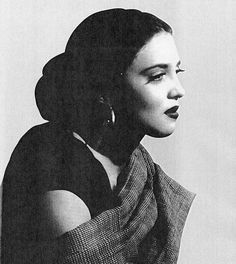 Katy Jurado, actriz de la epoca de oro del cine mexicano / Katy Jurado, actress of the Golden Era of Mexican Cinema