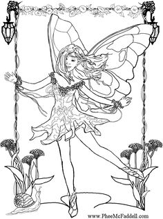 230 Best Coloring Fairies Mythical Creatures Images Coloring