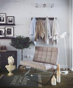 Small Apartment ( Corona ) part 2 - Галерея 3ddd.ru