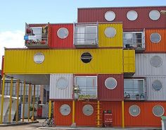 Shipping container home info. One day I will have a container home of my own. :)