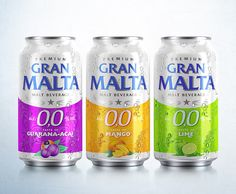 Gran Malta – Malt Beverage on Packaging of the World - Creative Package Design Gallery
