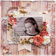 Tania's Creative Space: Let's Get Sketchy May GDT Mid Month Sketch Challenge Scrapbook Pages, Scrapbooking, Scrapbook Layouts, Journal Diary, Creative Inspiration, Floral Wreath, Challenges, Girly, Diy Crafts