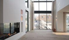 Van binnen uit sterren zien - Bekhuis & KleinJan Spacious Living Room, Spacious Living, Bungalow, Inspiration, House, Home, Interior, Home Decor, Room