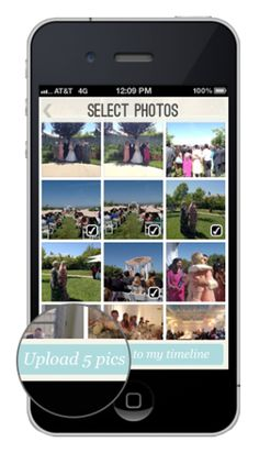 The Wedding Party App Captures All IPhone Photos Taken By Guests On Big Day