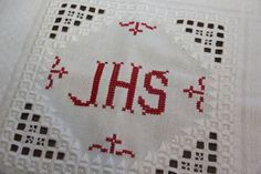 Weihedeckerl für Ostern selber sticken Knitting Projects, Stitch, Rugs, Crochet, Towels, Cross Stitch, Physical Intimacy, Hardanger, Religious Pictures